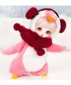 ドール本体 Withdoll Pooky 女の子 BJD人形 SD人形 1/8サイズ 人形ボディ