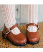 Bjd靴  ドール靴  シンプルな靴 チョコレートの色 人形靴 1/4 1/6 単独で購入できない