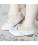 Bjd靴 ドール靴  シンプルな靴 キャンディの色 人形靴 1/4単独で購入できない
