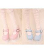 Bjd靴 ドール靴  マカロン二つの色 1/4  単独で購入できない