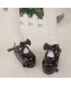 Bjd靴 ドール靴  蝶結び厚みの靴 1/4  単独で購入できない