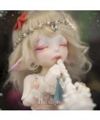 ドール本体 Realfee Mari 目を開く BJD人形 SD人形 1/7サイズ 特体 女の子 人形ボディ