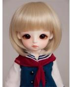 人形ウィッグ BJDウィッグ 浅金色 ショートヘア 短髪 1/6 単独で購入できない