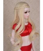 人形ウィッグ BJDウィッグ 浅金色 弁髪 ロングヘア 1/3 単独で購入できない