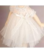 ドール衣装 白いレース洋服 BJD衣装 サイズが注文できる