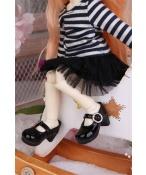 ドール衣装 縞柄衣装+黒いスカート BJD衣装 サイズが注文できる
