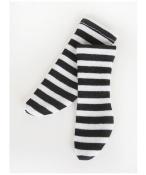 ドール衣装  黒白縞柄 靴下 BJD衣装 1/3 1/4 1/6 1/8 サイズが注文できる