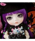 ドール本体 Halloween Ver. Cat Lea 女の子 BJD人形 SD人形 1/8