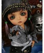 ドール本体 Pirate Monkey & Treasure Island Lea 女の子 BJD人形 SD人形 1/8