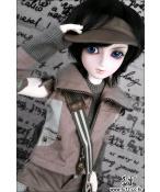 ドール本体 Kid Delf Boy AN 男の子  BJD人形 SD人形 1/4
