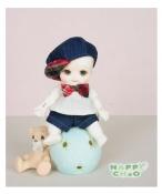 ドール本体 Nappy Choo BABY 男の子 BJD人形 SD人形 1/8