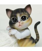 ドール本体 Molly craft ペット猫 BJD人形 SD人形 1/8