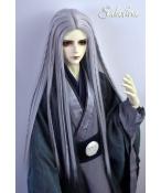 ドール用ウィッグ  人形ウィッグ ロングヘア 男女通用 高温糸 1/3サイズ