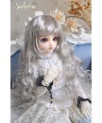 ドール用ウィッグ  人形ウィッグ カールヘア 1/3/1/4/1/6サイズ 超柔らかい糸 BJD SD