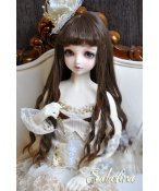 ドール用ウィッグ  人形ウィッグ ロングヘア 少女感 1/3/1/4/1/6/巨児サイズ 超柔らかい糸 BJD SD
