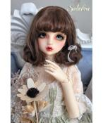 ドール用ウィッグ  人形ウィッグ 可愛いショートヘア 1/3/1/4/1/6サイズ 超柔らかい糸 BJD SD