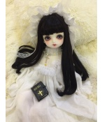 ドール衣装  ワンピース ホワイト 姫系 BJD衣装 1/3/1/4/1/6サイズ
