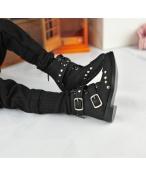 BJD靴  ドール靴 男用 人形靴 ブラウン 黒色 1/3サイズ