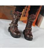 BJD靴  ドール靴 男用 人形靴 長ブーツ 1/3/1/4サイズ