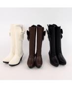BJD靴  ドール靴 女用 人形靴 長ブーツY033 1/3サイズ
