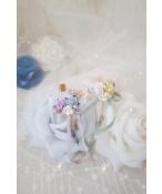 ドール用ネックレス 飾り物 1/3サイズ人形用 花レースchoker