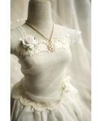 ドール用ネックレス 飾り物 1/3/1/4/1/6サイズ人形用 金色の雪