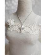 ドール用ネックレス 飾り物 1/3/1/4/1/6サイズ人形用 小さな十字架
