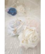 ドール用ネックレス 飾り物 1/3/1/4/1/6サイズ人形用 ダイヤ 星 真珠