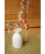 ドール用【簪】かんざし 飾り物 1/3/1/4サイズ人形用