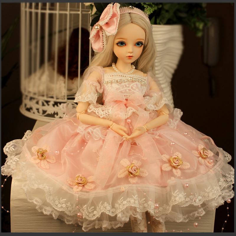 ドール本体 Doris Doll ウエディングドレス プリンセスセット BJD人形 SD人形 60cm製品図5