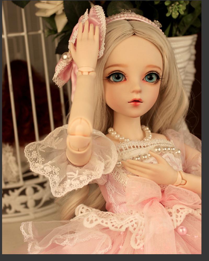 ドール本体 Doris Doll ウエディングドレス プリンセスセット BJD人形 SD人形 60cm製品図1