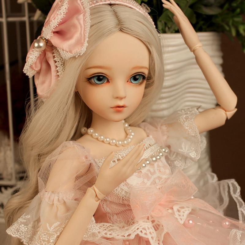 ドール本体 Doris Doll ウエディングドレス プリンセスセット BJD人形 SD人形 60cm製品図3