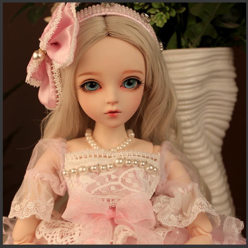 ドール本体 Doris Doll ウエディングドレス プリンセスセット BJD人形 SD人形 60cm製品図4