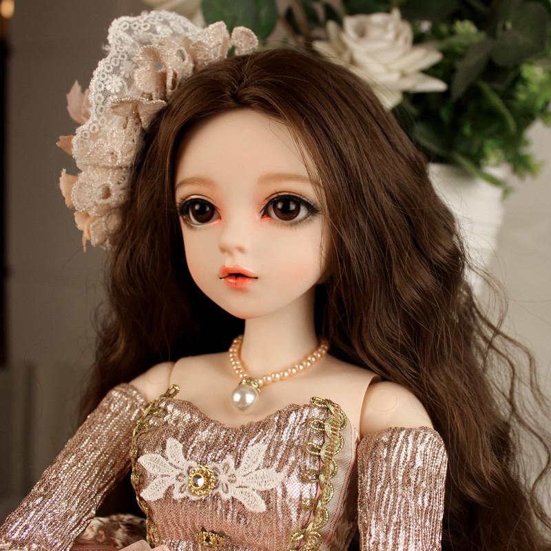 大セット ドール本体 Doris Doll ウエディングドレス プリンセスセット BJD人形 SD人形 60cm製品図1