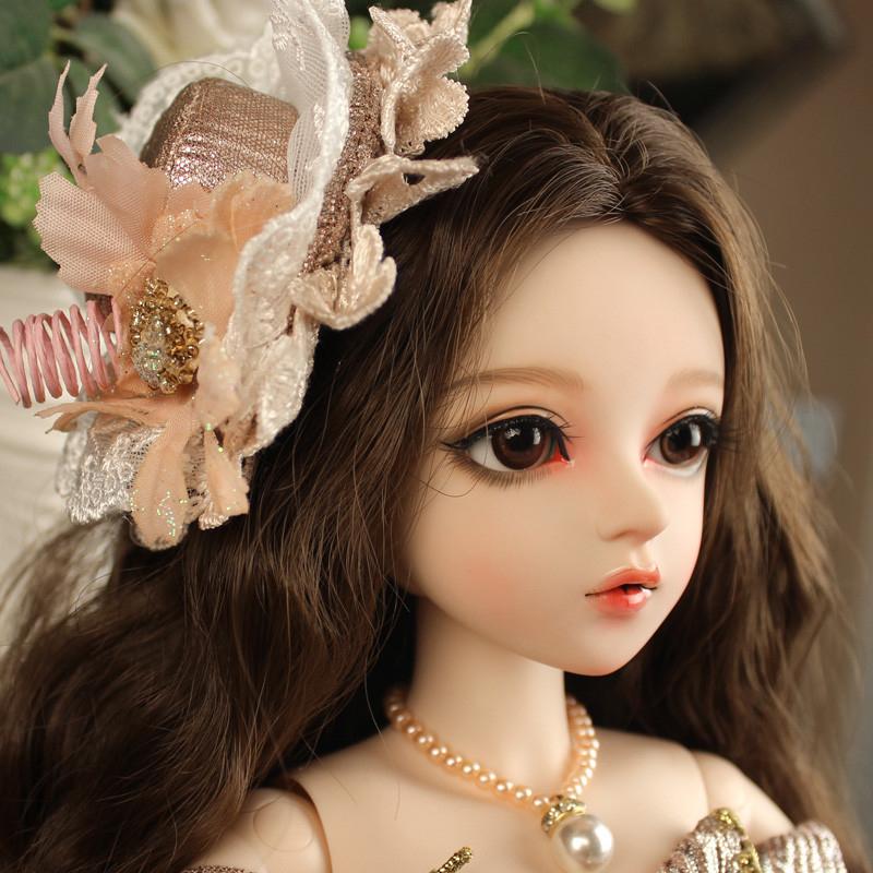 大セット ドール本体 Doris Doll ウエディングドレス プリンセスセット BJD人形 SD人形 60cm製品図2