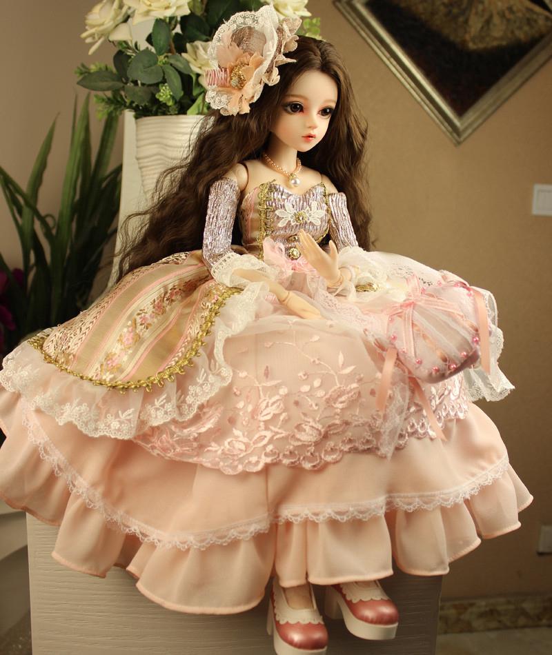 大セット ドール本体 Doris Doll ウエディングドレス プリンセスセット BJD人形 SD人形 60cm製品図3