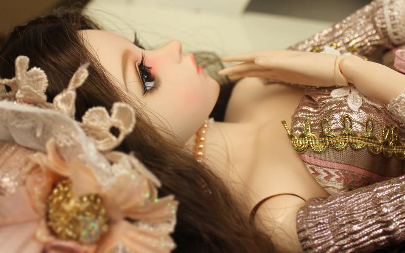 大セット ドール本体 Doris Doll ウエディングドレス プリンセスセット BJD人形 SD人形 60cm製品図4