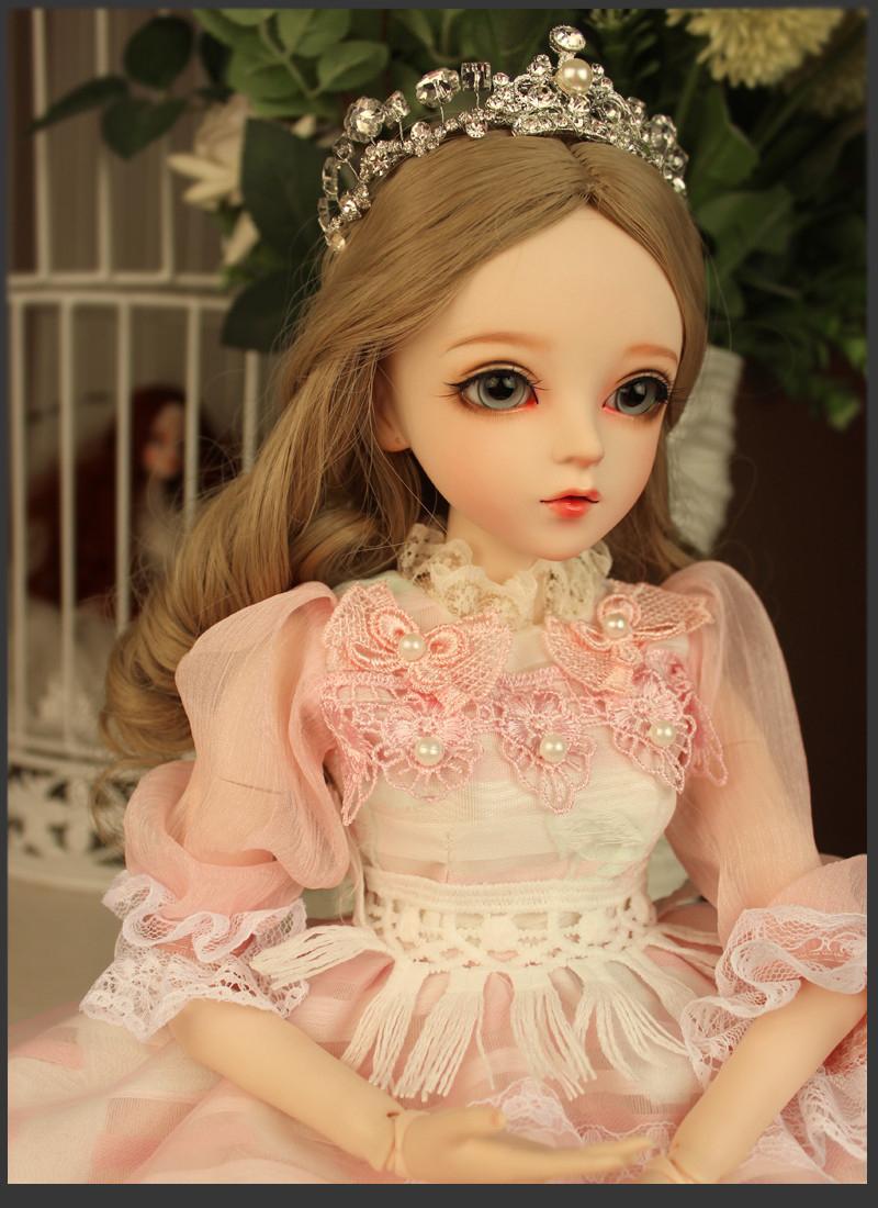 ドール本体 Doris Doll ウエディングドレス プリンセスセット BJD人形 SD人形 60センチ製品図1