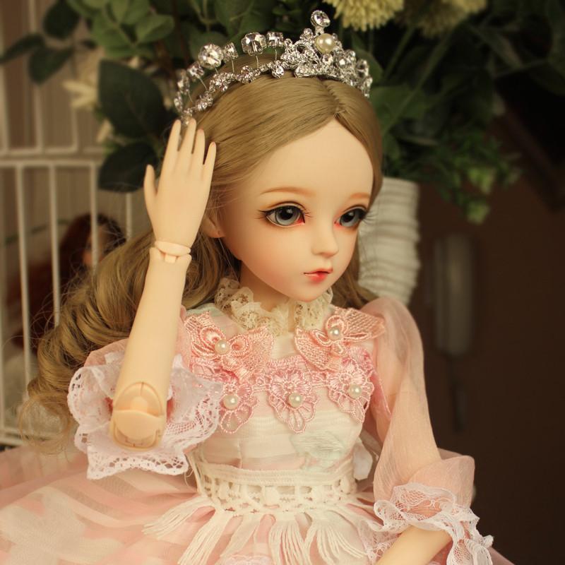 ドール本体 Doris Doll ウエディングドレス プリンセスセット BJD人形 SD人形 60センチ製品図3