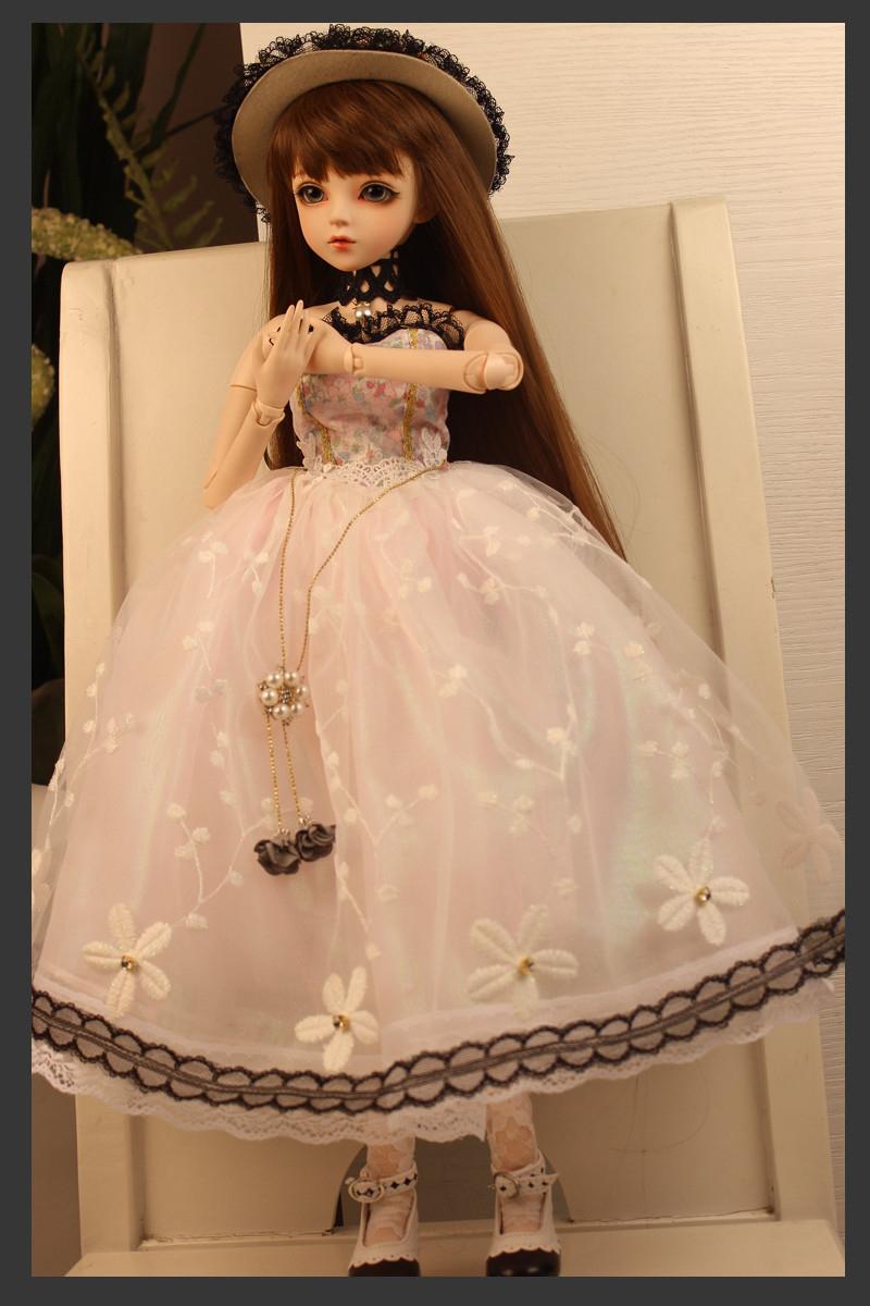 ドール本体 Doris Doll キティ ウエディングドレス BJD人形 SD人形 60センチ製品図7
