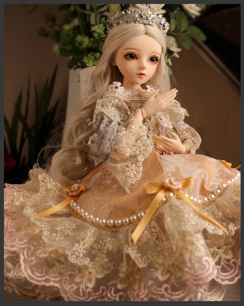 ドール本体 Doris Doll キティ ウエディングドレス BJD人形 SD人形 60センチ製品図3