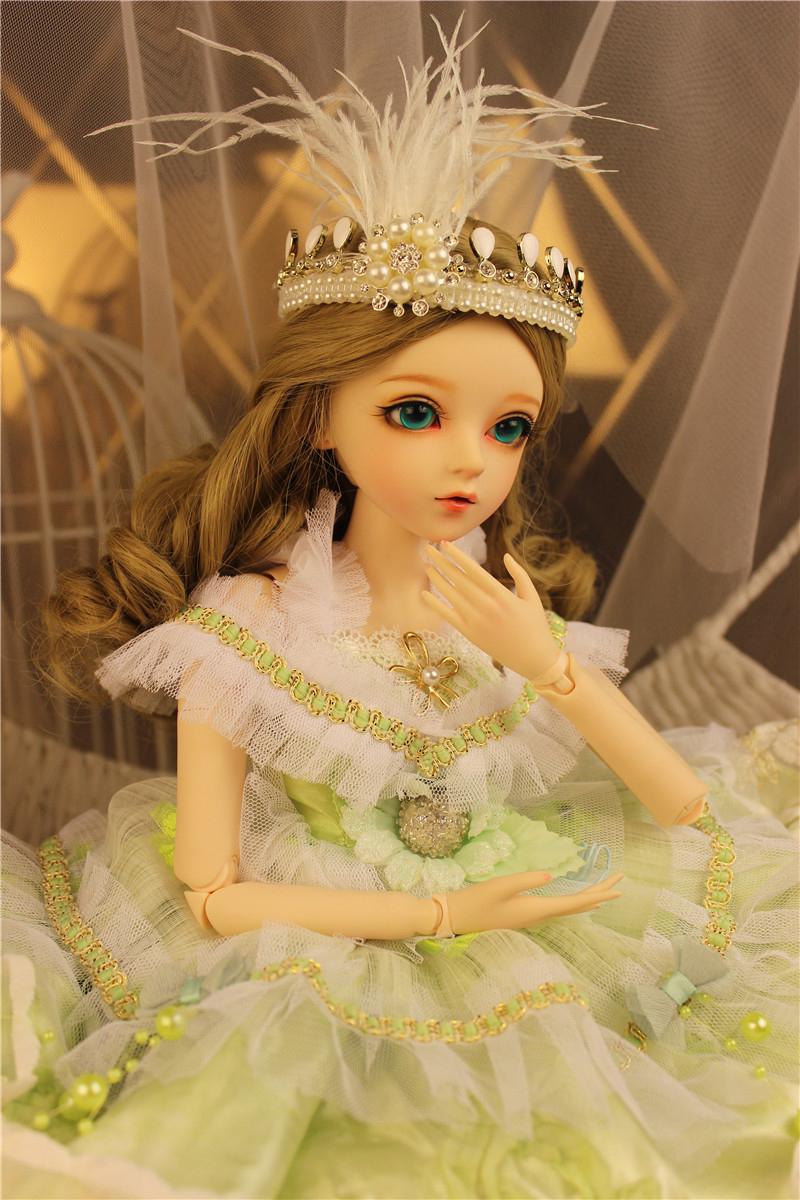 ドール本体 Doris Doll キティ ウエディングドレス BJD人形 SD人形 60センチ製品図2