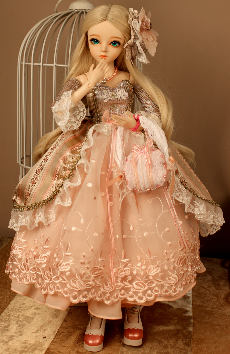 ドール本体 Doris Doll キティ ウエディングドレス BJD人形 SD人形 60センチ製品図6