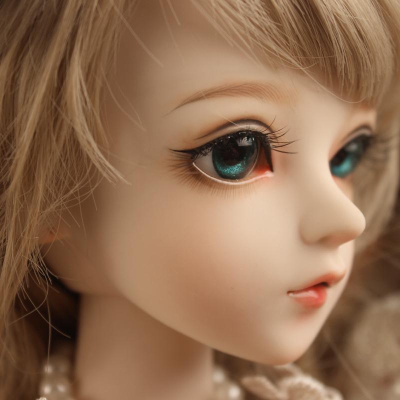 ドール本体 Doris Doll キティ ウエディングドレス BJD人形 SD人形 60センチ製品図1