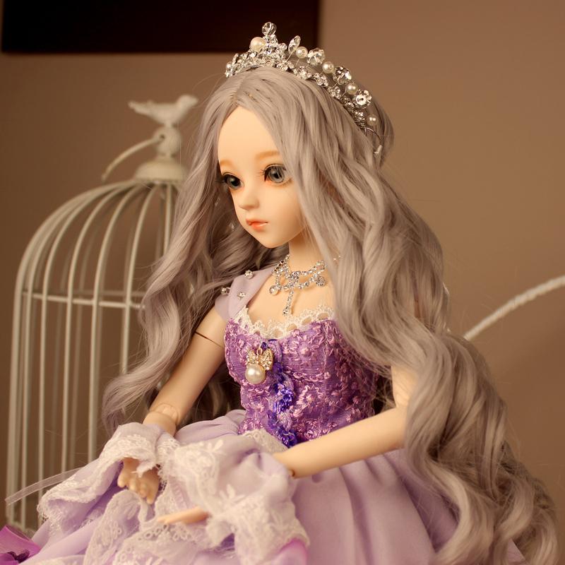 ドール本体 Doris Doll キティ ウエディングドレス BJD人形 SD人形 60センチ製品図4