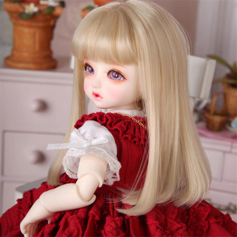 ドール衣装 Honey 洋服赤いスカート BJD衣装 1/4 1/6 サイズが注文できる製品図3