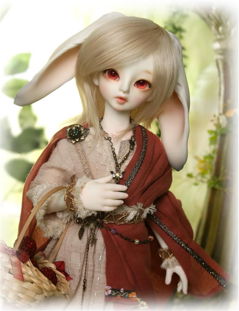 ドール本体 Teschen & Mylo ウサギ BJD人形 SD人形 1/4製品図5