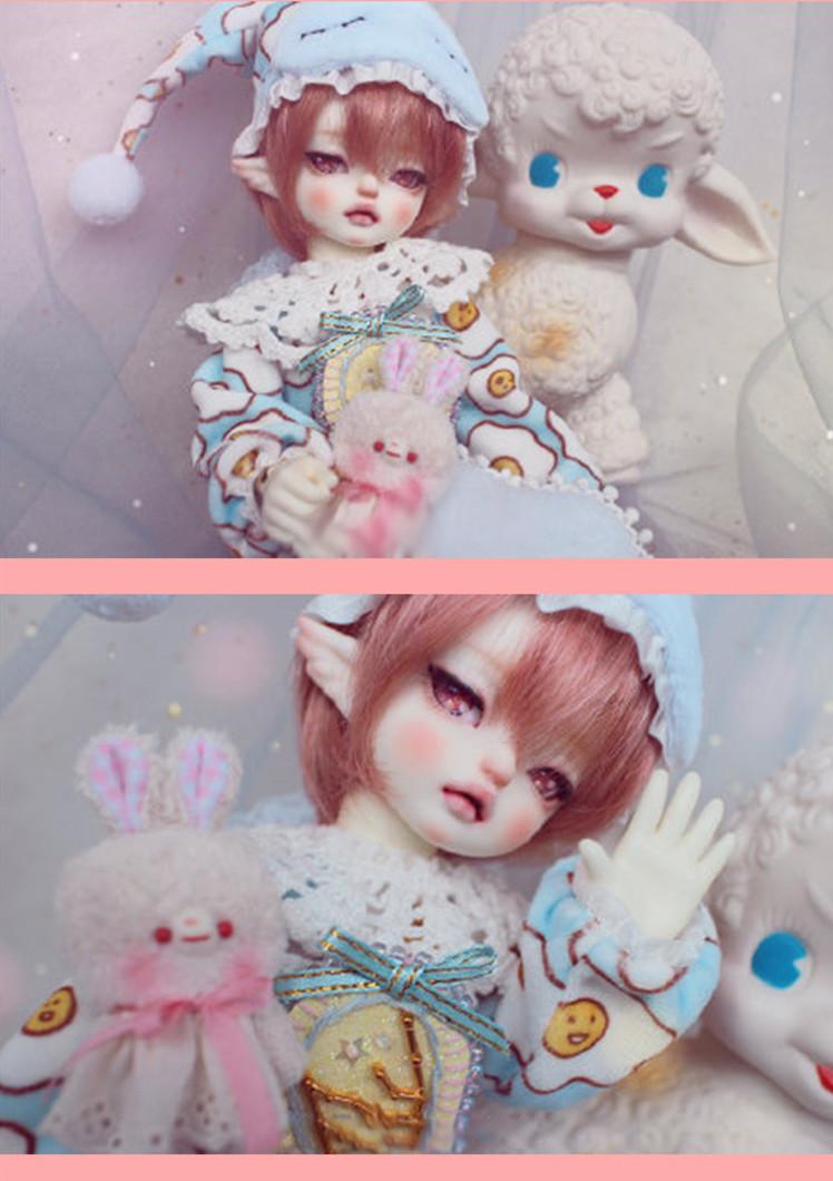 ドール本体 ISHA 麒麟 特体 BJD人形 SD人形 1/6 サイズ 人形ボディ製品図1