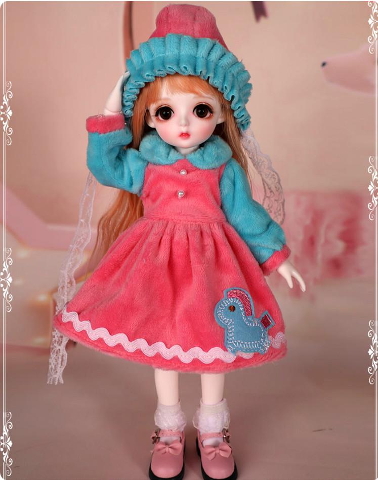 ドール本体 Miu 女の子 BJD人形 SD人形 1/6サイズ 人形ボディ製品図5