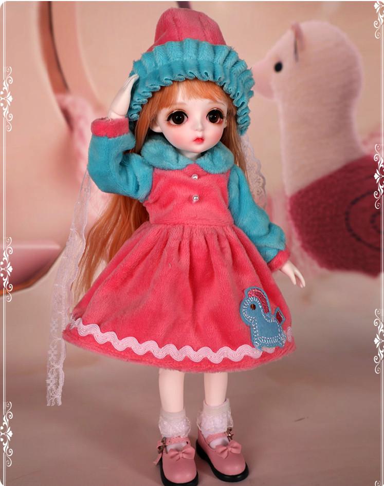 ドール本体 Miu 女の子 BJD人形 SD人形 1/6サイズ 人形ボディ製品図6